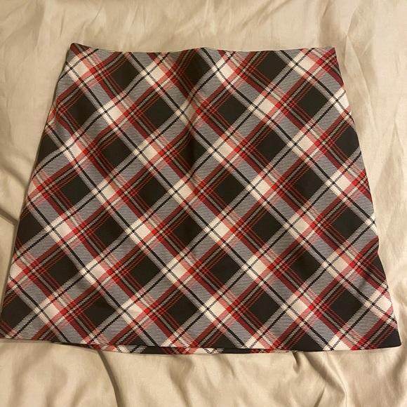 H&M Women's Plaid Skirt size 12